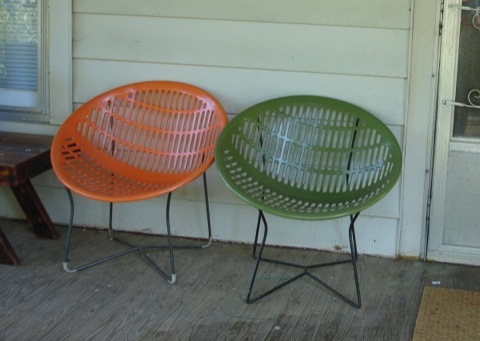 Kitka Readers Noah And Christie Sent Us This Great Pic Of Their Front  Porch, Feauturing A Pair Of Their Beautiful Vintage Solair Chairs.