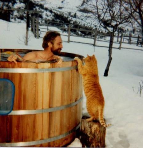 Man-in-tub-w-cat-color