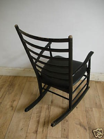 black-rocking-chair