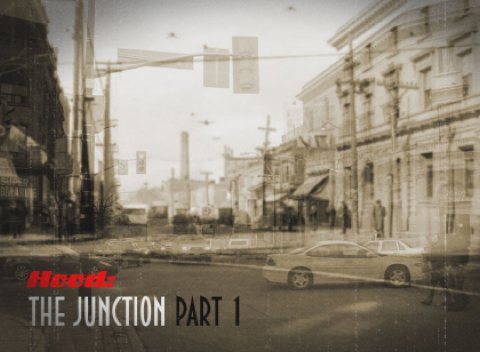 the junction DS