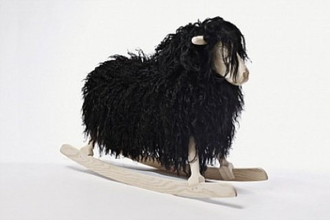 Rocking sheep black